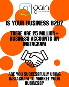 There are over 25 million business accounts active on Instagram. If your business offers B2B services you can use Instagram to target new clients. Instagram Tips, Accounting, Target, Social Media, Marketing, Business, Amazing, Store, Social Networks