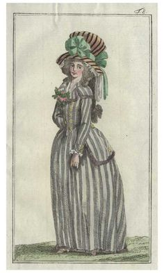 Journal des Luxus, 1788. (18th Century Fashion Plate)