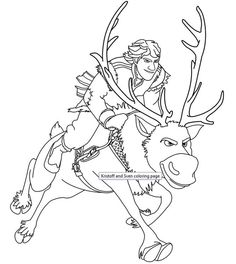 50 Frozen Coloring Pages  Free Printable  for Kids