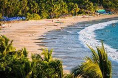"""5. Playa La Ropa. The """"Beach of Clothing"""" got its name when a Spanish galleon wrecked, and its cargo of colorful fabrics washed ashore along this beach. Today, this is the main water sport beach for Ixtapa. Parasailing, jet skis and hobie cats are all available for rent here, and there are a large number of restaurants to enjoy after a good outing on the water. Touropia"""