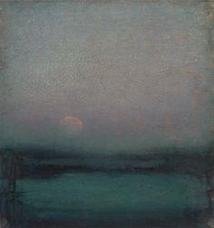 John Felsing |The Moon Hangs Like Heaven,Oil on linen