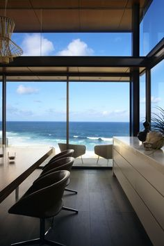 Ocean home with a view