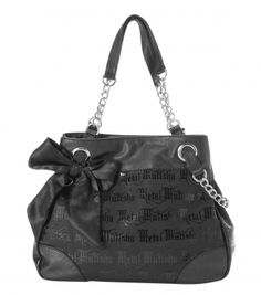 Handbags... and metal mulisha has some of the best print designs right now. Plus they are super affordable.