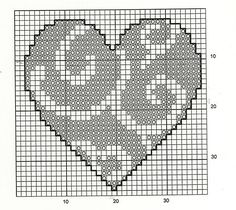 30 Free Heart Cross Stitch Patterns I always imagined choosing one designing and making it in a whole bunch of different colors and make a . Easy Cross Stitch Patterns, Cross Stitch Heart, Simple Cross Stitch, Quilt Stitching, Cross Stitching, Embroidery Hearts, Cross Stitch Embroidery, Cross Stitch Christmas Ornaments, Cross Stitch Bookmarks