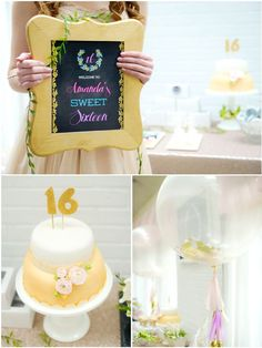 Sweet Sixteen Birthday Party Printables Supplies & Decorations