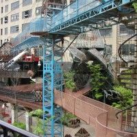 Pictures can't capture the City Museum.  It is my favorite place in St. Louis, one of my favorite in the whole world.  There is also a bar and a cafe inside, and on the weekends there is often music.  Not to be missed, NO EXCUSES!