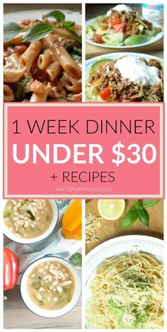 Healthy and easy dinner options for a budget meal plan. Healthy Recipes On A Budget, Cooking On A Budget, Healthy Dinner Recipes, Cheap Recipes, Easy Recipes, Healthy Options, Cheap Healthy Meal Plan, Sweets Recipes, Healthy Dinners