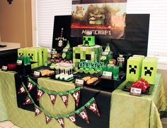Eddie's 7th Birthday ---- HEY HEY!!!  For more COOL MINECRAFT stuff, check out http://minecraftfamily.com