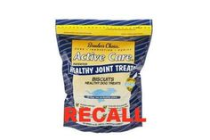 Breeders Choice RECALL - Active Care Biscuits Healthy Joint Dog Treats