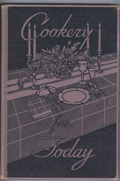 Antique Vintage Retro Thirties Cookery for by chemindesmuguets, $15.00