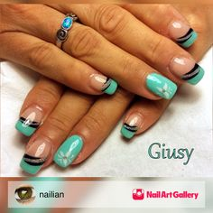 Tiffany by nailian via Nail Art Gallery #nailartgallery #nailart #nails #gel