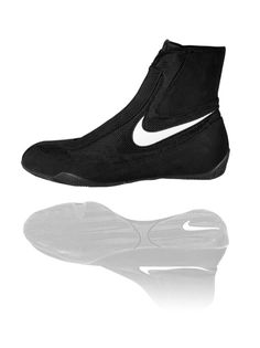 Product made by Roy Jones JR (black white) boxing shoes Nike