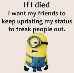 If you love minion jokes and Looking for minions jokes then this is a perfect place for minions lover because we have posted a lovely minion jokes that will make you happy more then enough. Here are 30 Minions Memes gru Funny Minion Pictures, Funny School Pictures, Funny Sports Pictures, Funny Minion Videos, Funniest Pictures, Funny Pics, Funny Quotes For Kids, Funny Qoutes, Stupid Funny Memes