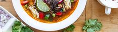 Turkey Tortilla Soup Tortilla Soup, Tortilla Chips, Holiday Dinnerware, Chipotle Pepper, Stuffed Poblano Peppers, Thanksgiving Leftovers, Cooking Together, Feeding A Crowd, Paleo Whole 30