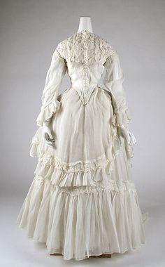 Dress, ca. 1870