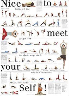 Pilates Nice to Meet You Exercise Chart with Dozens of Exercises Pilates Training, Pilates Reformer Exercises, Pilates Workout, Pilates Yoga, Beginner Pilates, Pop Pilates, Pilates Video, Core Exercises, Sanskrit