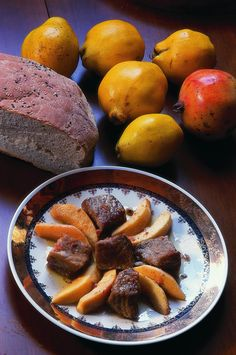 Quince Crete, Pork, Peach, Herbs, Boutique Hotels, Fruit, Breakfast, Postcards, Awesome
