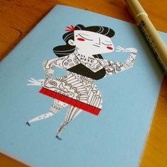 tattoo cards