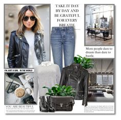 """""""Take it day by day and be grateful for every breath!!"""" by lilly-2711 ❤ liked on Polyvore featuring Anja, Topshop, Studio 8, Proenza Schouler and Diesel"""