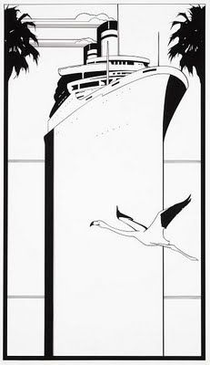 Decoy Magazine: Patrick Nagel, the ultimate influential illustrator of the Patrick Nagel, Art And Illustration, Illustrations And Posters, Nagel Art, Mug Rug Patterns, Art Model, Digital Pattern, American Artists, Vintage Posters