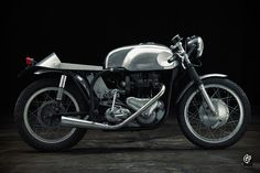 Renowned motorcycle racer Freddie Cooper built this beautiful Triton cafe racer in 1960. It's going up for auction in France, and could be yours for less than $12,000.
