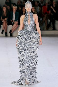 Alexander McQueen - spring 2012 trend - under the sea. i knew scales would be the next big thing! here's to water inspired looks. : )