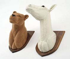 Sauna Richardson - crocheted animals
