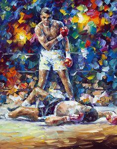 Muhammad Ali by Leonid Afremov