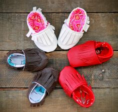 Marzipan's Baby Moccasins PDF PATTERN by madebymarzipan on Etsy