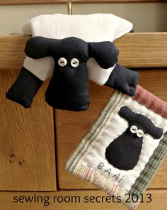 Animal sewing pattern for sheep cat pig dog por SewingRoomSecrets
