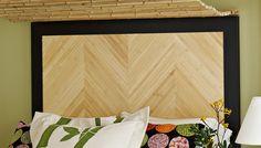 bamboo headboard