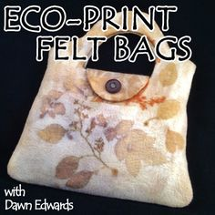 In this two day workshop students will learn how to create a 3D felted bag and learn how to use natural materials to eco-print the bag. During the first day, students will use natural Merino wool roving and a plastic resist to wet felt a beautiful felted hang bag. This is a great introduction to 3-D felting. The second day will begin with finishing off the bags and eco-printing them. If you're unfamiliar with eco-printing, also known as botanical printing, it refers to leaves and plant…