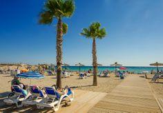 Strand L´Ampolla, zandstrand met lounge terras en vlonders voor de toegankelijkheid rolstoelers. In de zomer tevens aangepast verkleedhok en toilet aanwezig. Parkeerplaats direct achter het strand.
