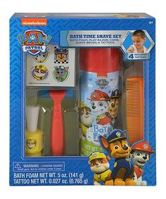 This PAW Patrol Groom & Go Set is perfect! #zulilyfinds