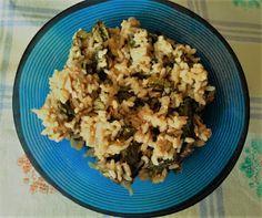 la cucina di Rosaria: riso con la borragine e il salmone