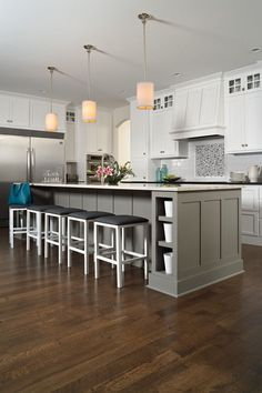 Transitional Kitchen Decor with Flooring   Decor Ideas in  Manchester NH