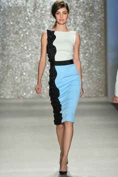 Pamella Roland Spring 2014 Ready-to-Wear Collection Slideshow on Style.com