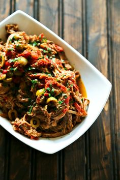 awesome SLOW COOKER ITALIAN SHREDDED BEEF
