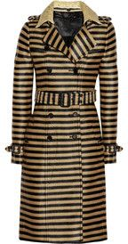 This coat, (and the hat, belt an clutch) have been on my wish board at home since summer.  This is SO gonna be in my closet SOON!  By Burberry Porsum