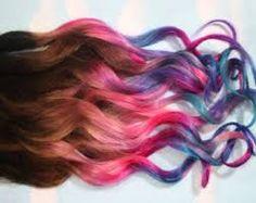 Image result for dip dye kids hair