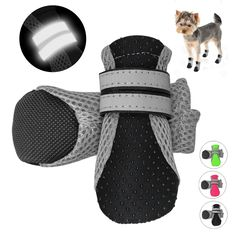 Breathable Waterproof Pet Dog Shoes Anti-Slip Protective Boots Socks for Small Large Dogs Reflective Dog Booties, Bootie Boots, Large Dogs, Small Dogs, Cheap Dog Clothes, Pet Dogs, Pets, Dog Supplies, Garden Supplies
