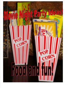 Throw a movie themed birthday party for a boy or girl.  Perfect for those tweens!