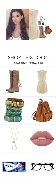 """""""ootd"""" by l0st-demig0ds ❤ liked on Polyvore featuring beauty, TALLY WEiJL, ALDO, Yves Saint Laurent, Kate Spade and Lime Crime"""