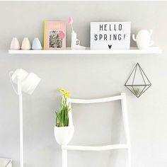 Goooodmorning  SPRING , i need some sun today, please?! Lovely regram by stockists @xcuseme.nl ❤ #lightboxquotes #lightbox #alittlelovelycompany #alittlelovelylightbox