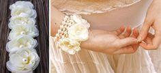~Ruffles And Stuff~: Rose Cuff Bracelet
