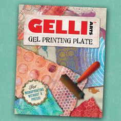 This is one of the coolest new tools I've seen this year... Monoprinting without a Press!