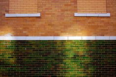 Green glazed brick | Flickr - Photo Sharing!