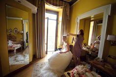 #weddings #italy #como #lake #morning #bride