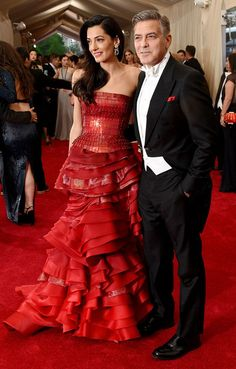 Amal Clooney Photos: 'China: Through The Looking Glass' Costume Institute Benefit Gala - Arrivals