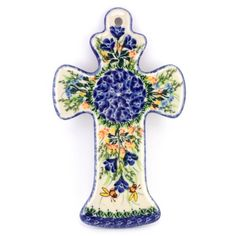 Decorate your wall with these beautiful crosses that are available in a wide range of different patterns. Everyone can choose! #PolishPottery from http://slavicapottery.com